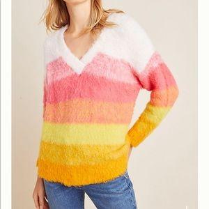 "Anthropologie ""Simone"" Striped Sweater"
